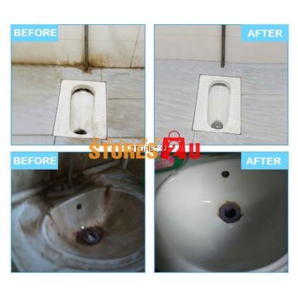 LKB Tiles Cleaner (500ml) Remove Stubborn Dirt ,Urine Stains Mold Spots on Bathroom Floor Mosaic Tile Cleaning