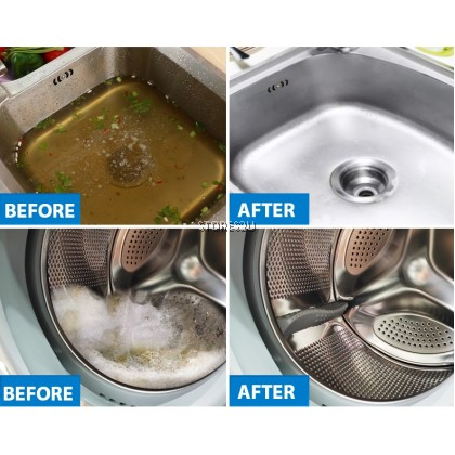 LKB Boom Wash (300g) Oxygen Blue Foam Cleaner Multi-purpose Household Universal Toilet Pipe Bubble Boom Detergent 活氧泡泡净
