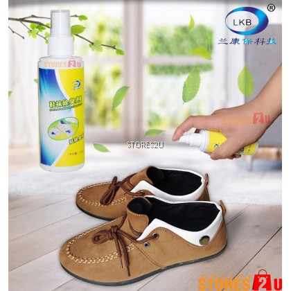 LKB Footwear Deodorant Spray (120ml) Shoe Foot Odor Remover Semburan Deodoran Penghilang Bau Kaki Kasut
