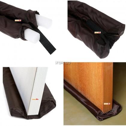 83cm Flexible Door Stopper & Window Protector Doorstop Energy Saving Air Stopper