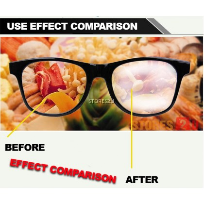 LKB Glass Anti Fogging Spray (10ml) Waterproof Liquid Spectacles Eye Glasses Semburan Kaca Anti Berkabut Cermin Mata