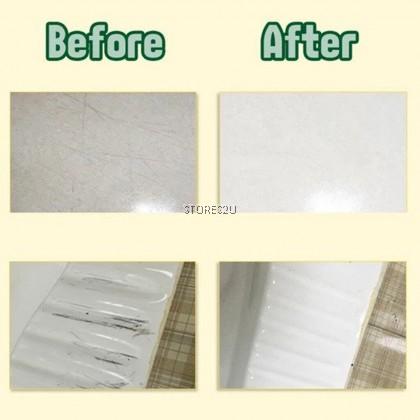 LKB Tile Metal Scratch Cleaner (260ml) Ceramic Floor Scratch Remover Repair Cream Mosaic Polish Cream