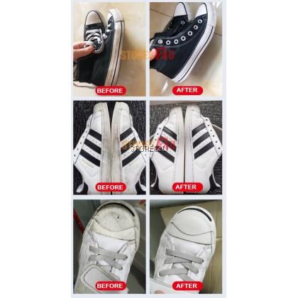 LKB White Shoe Foam Cleaner (200ml) Dry Cleaning Agent For Shoe Cleaning Sports Shoes Sneakers Pembersih Kasut 兰康保小白鞋清洁剂