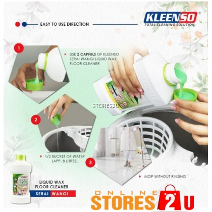 [Trial Pack 120ml] Kleenso 9 in 1 Floor Cleaner (Pink) Anti-Bacterial Tea Tree Oil