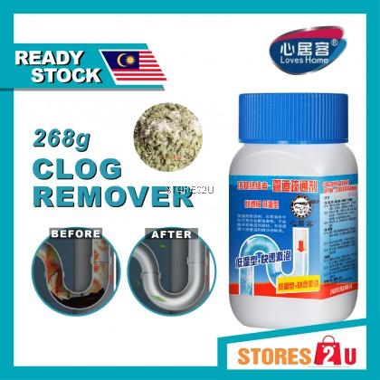 268G Drain Cleaner Agents Foaming Unclog Drain Powder Pipeline Basin Clog Remover Ubat Sinki Paip Tandas Tersumbat