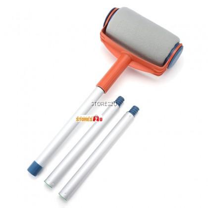 Paint Roller Kit With Liquid Filling Wall Painting Brush Tools Berus Cat Alat Mengecat Dinding Pintar Facil