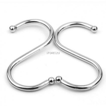 1pc Stainless Steel S Hook S-type Metal Hook (Small- 2 inch)