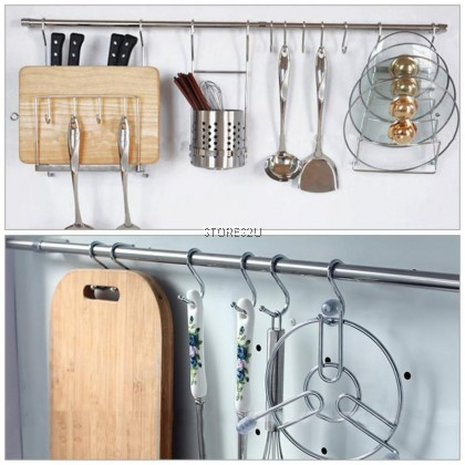 1pc Stainless Steel S Hook (Small- 2 inch) S-type Metal Hook Holder Hooks Hanging Storage Tools