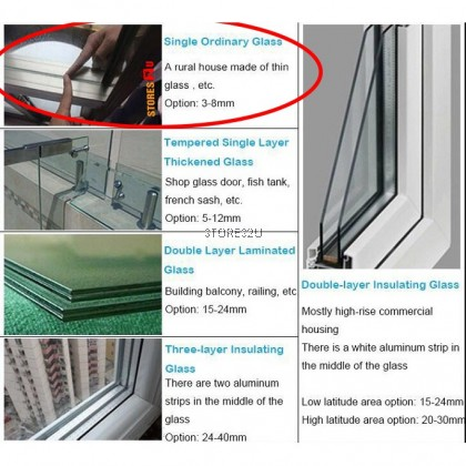 Glass Double Sided Faced Window Magnetic Wiper Brush [Glass Thickness 3-8mm]