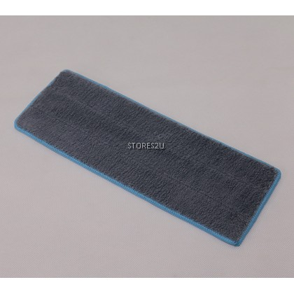 1pc [35cm x 12cm] Replacement Microfiber Mop Head Refill Pad for 35cm Hands Free Wash Lazy Flat Floor Mops Kain