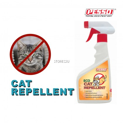 Pesso Eco Cat Repellent (500ml) Penghalau Halau Kucing Natural Plant Extract Water Base Spray Repel Cats