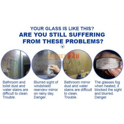 LKB Glass Cleaner (500ml) Lemon Scent Window Cleaning Liquid Spray Pembersih Kaca