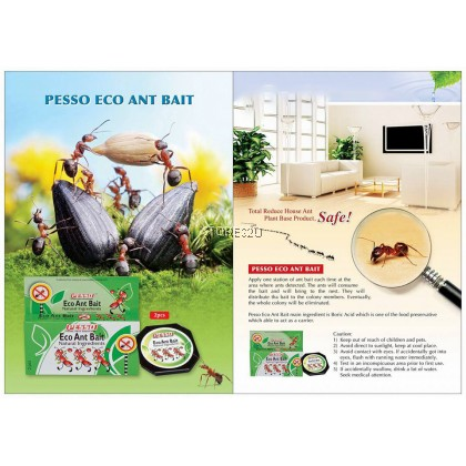 Pesso Eco Ant Bait (2pcs/Box) Umpan Semut