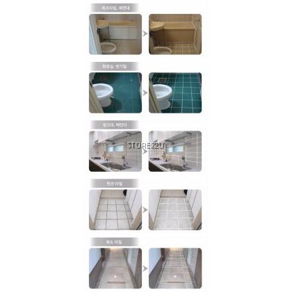 Korea Du Kkeobi Tile Reform (300g) Waterproof Tile Grout Grouting Fix Tiling Repair Kit (White) 韩国美缝剂