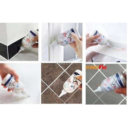 280ml 100% Original LKB Tile Reform (White) Grouting Fix Waterproof Tiling Repair Kit 兰康保美缝剂