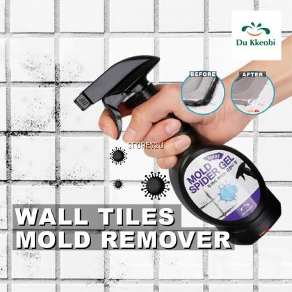 Korea Du Kkeobi Wall Tiles Mold Remover (400g) Mildew Removal Mold Spider Gel Spray
