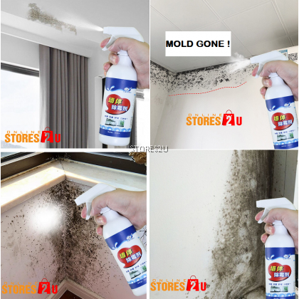 LKB Wall Mold Remover (500ml) Spray Mildew Spot Removal Cleaner Pembersih Kulat Kotoran Dinding