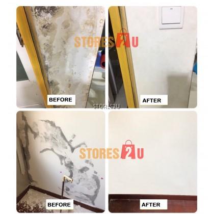 LKB Wall Repair Cream (500g)Waterproof Wall Mending Ointment Wall Paste Fix Peeling Crack Krim Baiki Dinding 补墙膏墙面修补膏