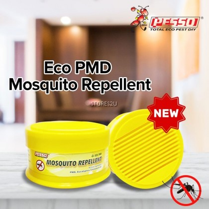 Pesso Mosquito Repellent Gel (100g) THE ONLY PLANT BASED REPELLENT ! Eco PMD Non Toxic Non Pesticide Penghalau Nyamuk