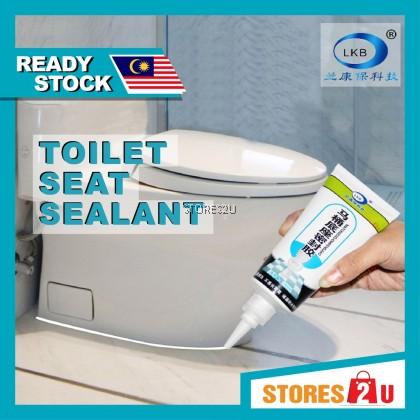 LKB Toilet Seat Sealant (180ml) Floor Tile Toilet Bowl Gap Jointing Glue Cream Gam Mangkuk Tandas Bilik Air 马桶底座密封