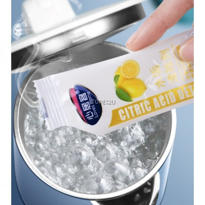 Citrid Acid Detergent (10 pack x 10g) Water Scale Remover Electric Kettle Heater Dispenser Cleaner Loves Home心居客水垢清除剂