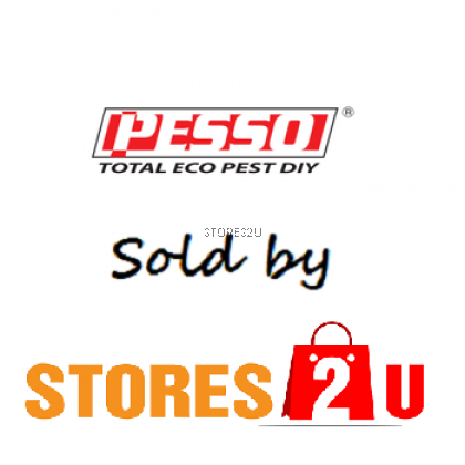 Pesso Eco Fly Repellent (500ml) Penghalau Lalat Lemongrass Anti Bacteria Natural Plant Extract