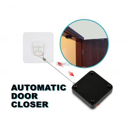 1 Meter Automatic Door Closer 800g Strong Pull Punch-free High Tension Buffering Door Sliding Penutup Pintu