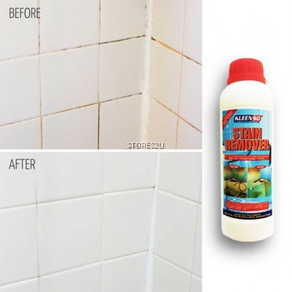 Kleenso Concentrated Stain Remover (1 Litre) Mosaic and Toilet Tiles Stain Cleaner