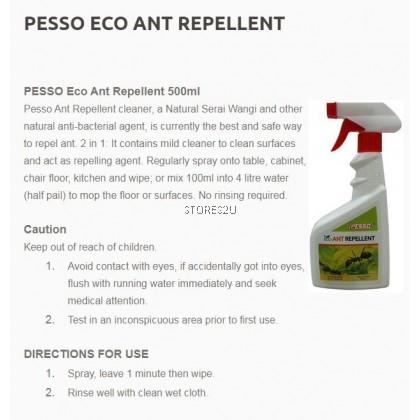 Pesso Eco Ant Repellent (500ml) Spray Penghalau Semut