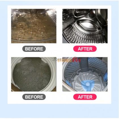 [12pc/Pack] Washing Machine Cleaning Effervescent Tablet Drum Tank Cleaner Loves Home PEMBERSIH MESIH BASUH 心居客洗衣机清洁泡腾片