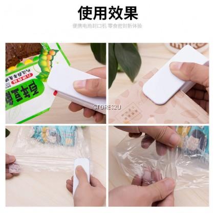 Mini Sealing Machine Household Hand Pressure Heat Seal Snack Plastic Bag