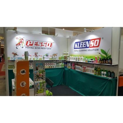 Kleenso 9 in 1 Anti-bacterial Tea Tree Oil Floor Cleaner (900 Gram Pink) Pembersih Lantai Anti-bakteria