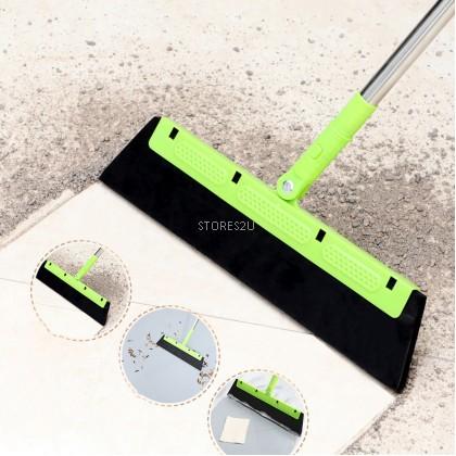 Magic Wiper Water Scraper Multifunction Adjustable Rotatable Broom Sweeper for Window Floor Household Cleaning Tools