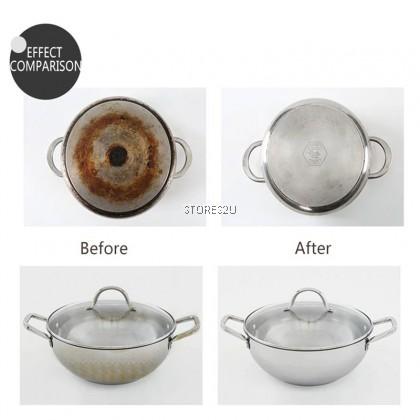 Cleaning Sponge Wipe Scale Pot Bowl De-rusting Descaling Nano Emery Decontamination Span Pembersih Dapur Periuk Mangkuk