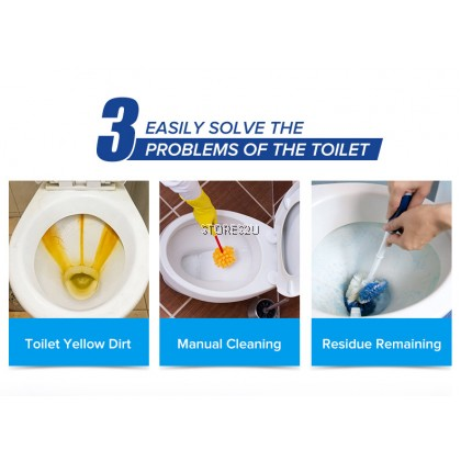 Bear Toilet Bowl Flush Cleaner (205g) KANJIE Blocks Blok Pembersih Tandas Mangkuk Tandas