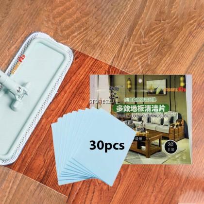 Floor Cleaning Slice (30 Sheet) Mopping Fragrance Cleaner for Wood Floor Tile Liquid Ceramic Tile Care Pembersih Lantai